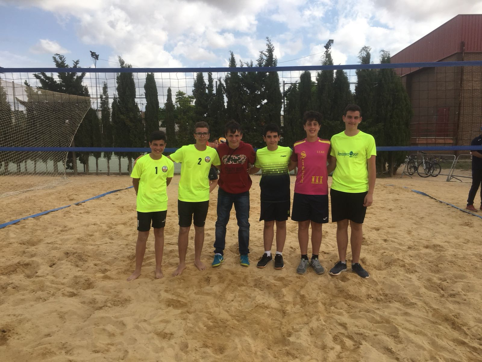 voley playa infantil junio 2018