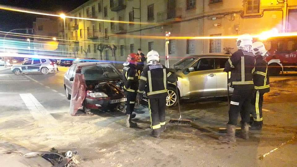 bomberos accidente